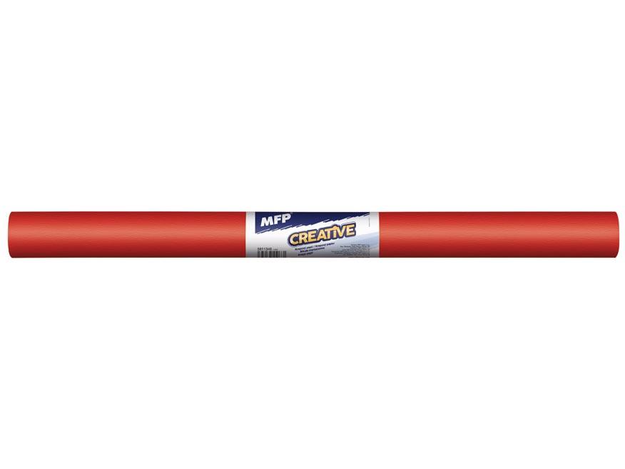 Krepový papier rolka 50x200cm červený