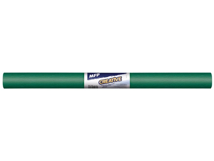 Krepový papier rolka 50x200cm zelený tmavý