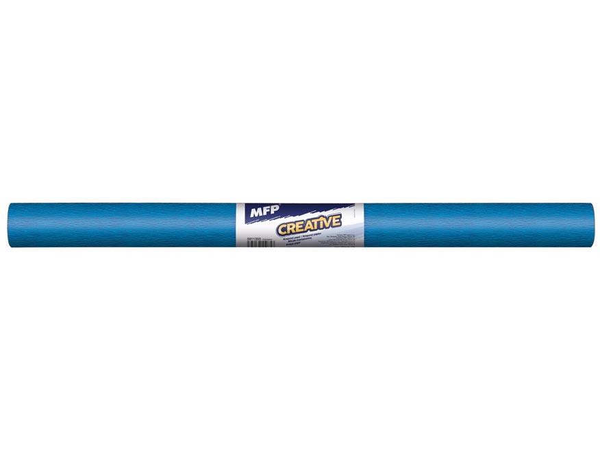 krepový papier rolka 50x200cm petrolejová 5811355