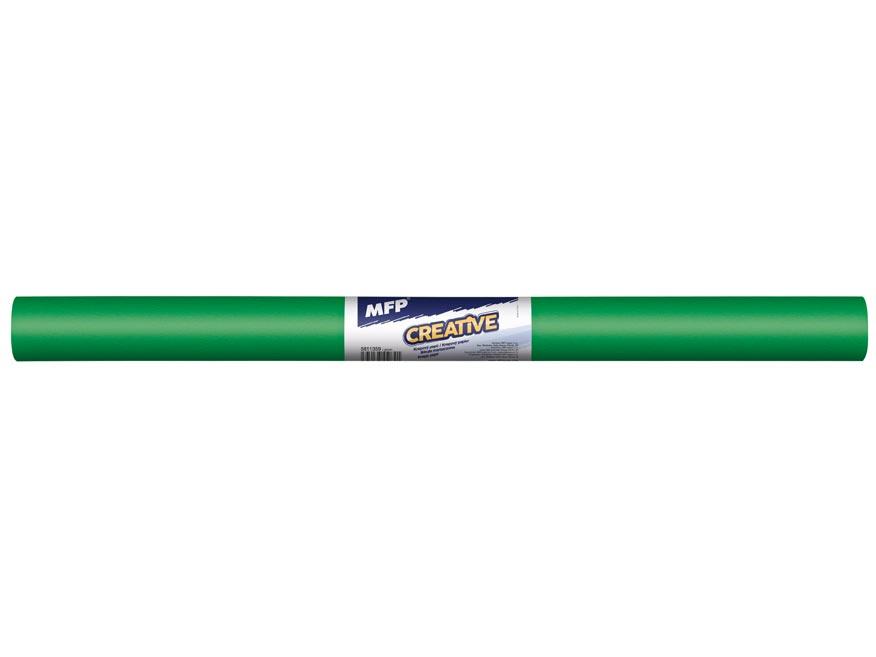 krepový papier rolka 50x200cm zelený 5811359