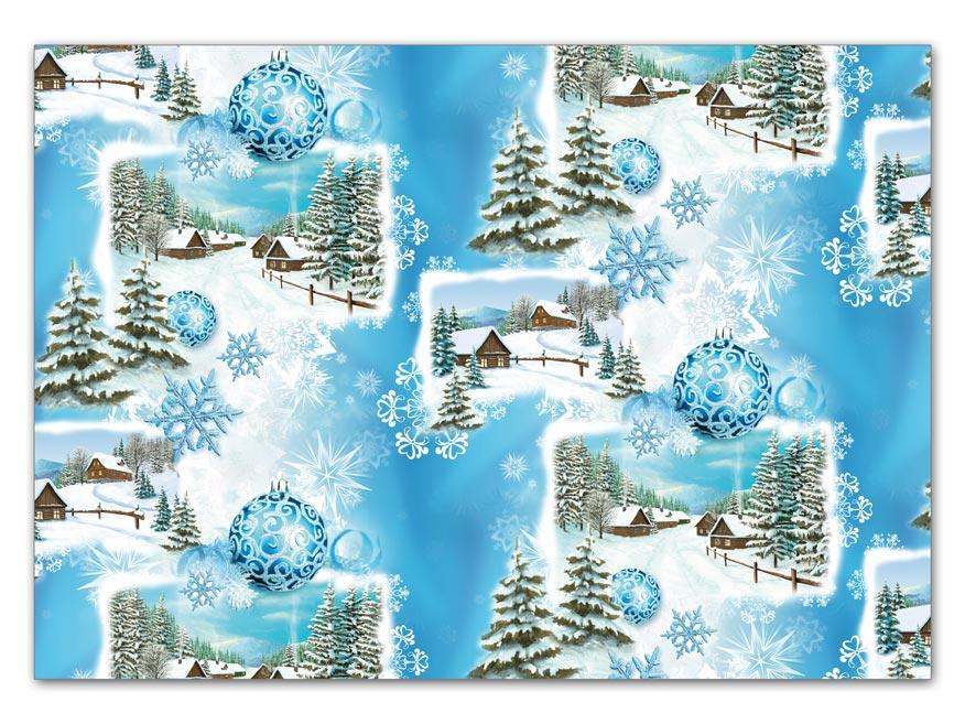 Baliaci papier vianočný klasik V189 100x70