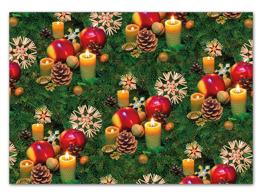 Baliaci papier vianočný klasik V190 100x70