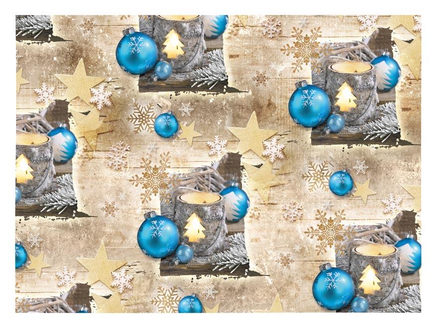 baliaci papier vianočný klasik V193 100x70 5811378