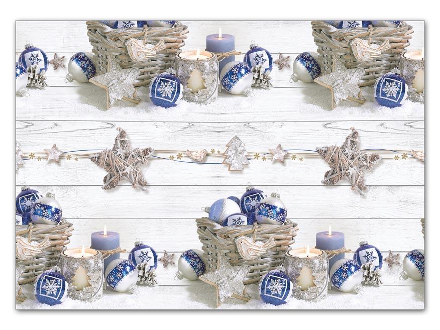 Baliaci papier vianočný LUX V198 100x70