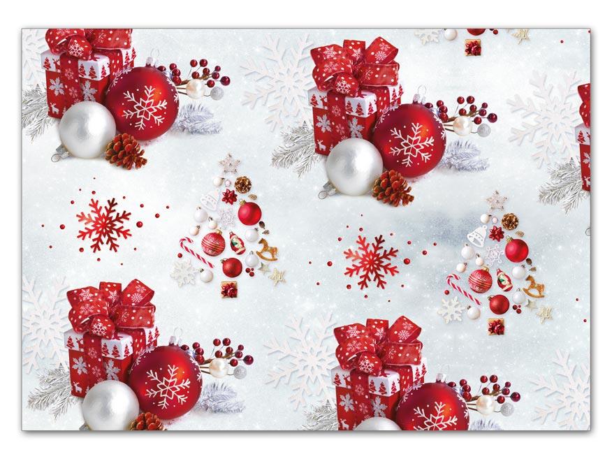 Baliaci papier vianočný LUX V199 100x70