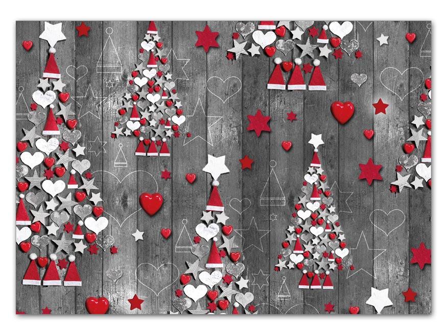 Baliaci papier vianočný LUX V201 100x70