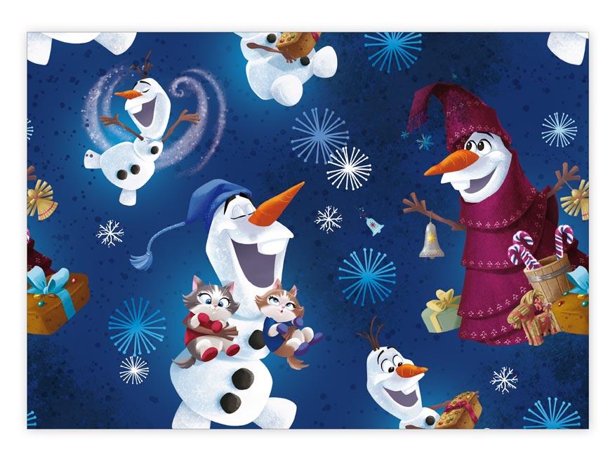 Baliaci papier vianočný LUX YV022 Disney (Frozen - Olaf)