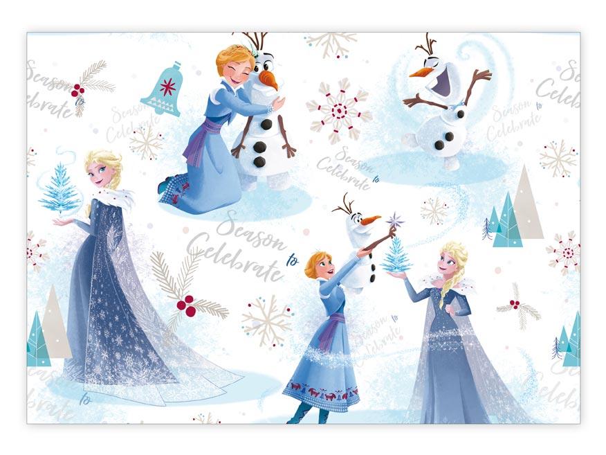 Baliaci papier vianočný LUX YV023 Disney (Frozen)