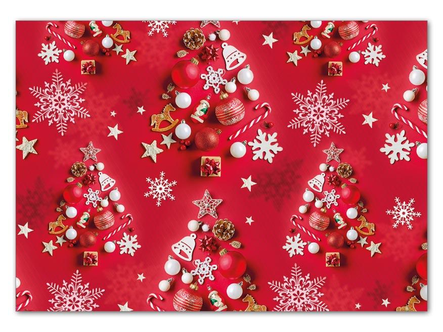 Balaici papier vianočný LUX V209 100x70