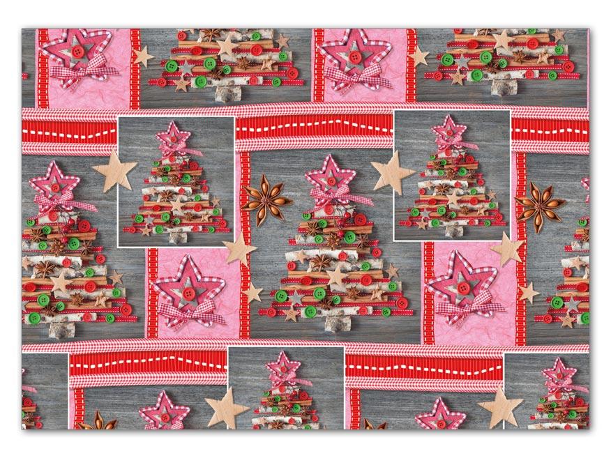 Balaici papier vianočný LUX V210 100x70