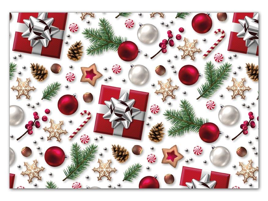 Balaici papier vianočný LUX V212 100x70