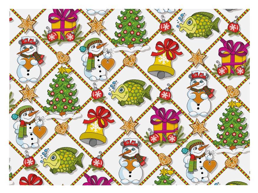 Balaici papier vianočný LUX V213 100x70