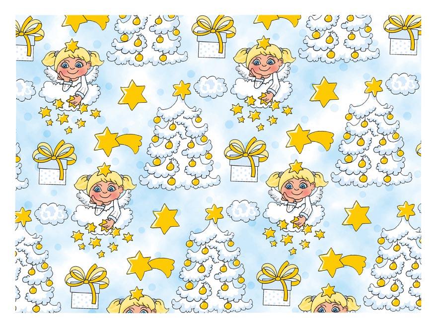 Balaici papier vianočný LUX V214 100x70