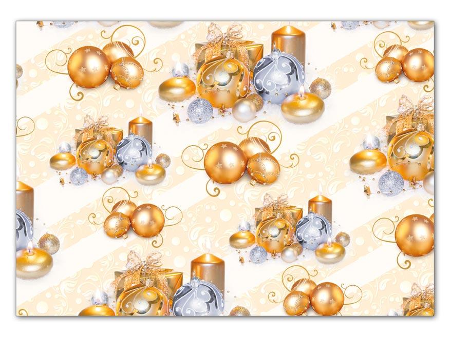 Baliaci papier vianočný LUX V216 100x70