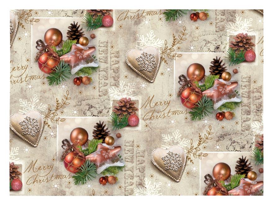 Baliaci papier vianočný LUX V217 100x70