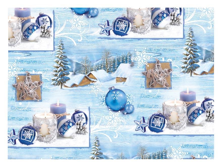 Baliaci papier vianočný LUX V218 100x70