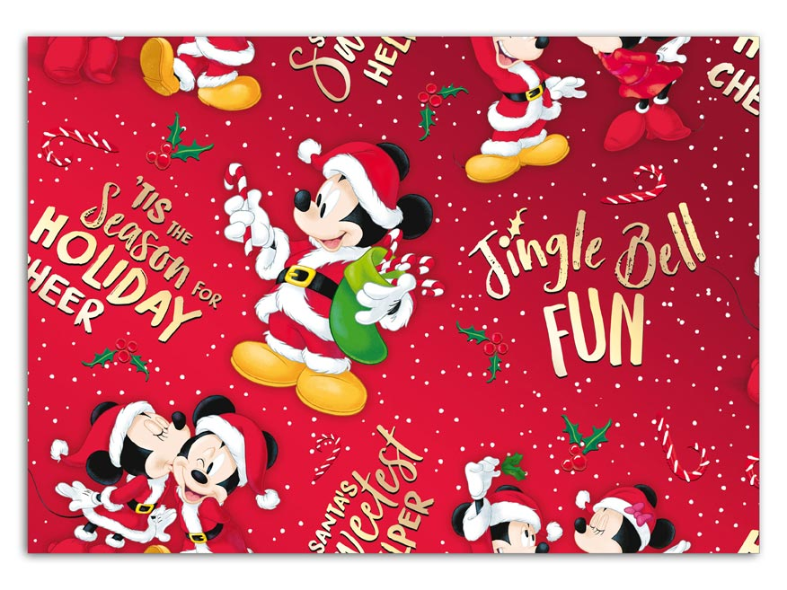 Balaici papier vianočný LUX YV026 Disney (Mickey)