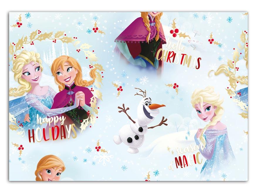 Balaici papier vianočný LUX YV027 Disney (Frozen)