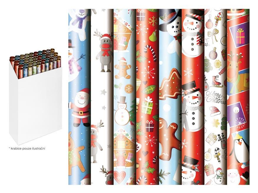 Baliaci papier vianočný rolky 200x70 detský