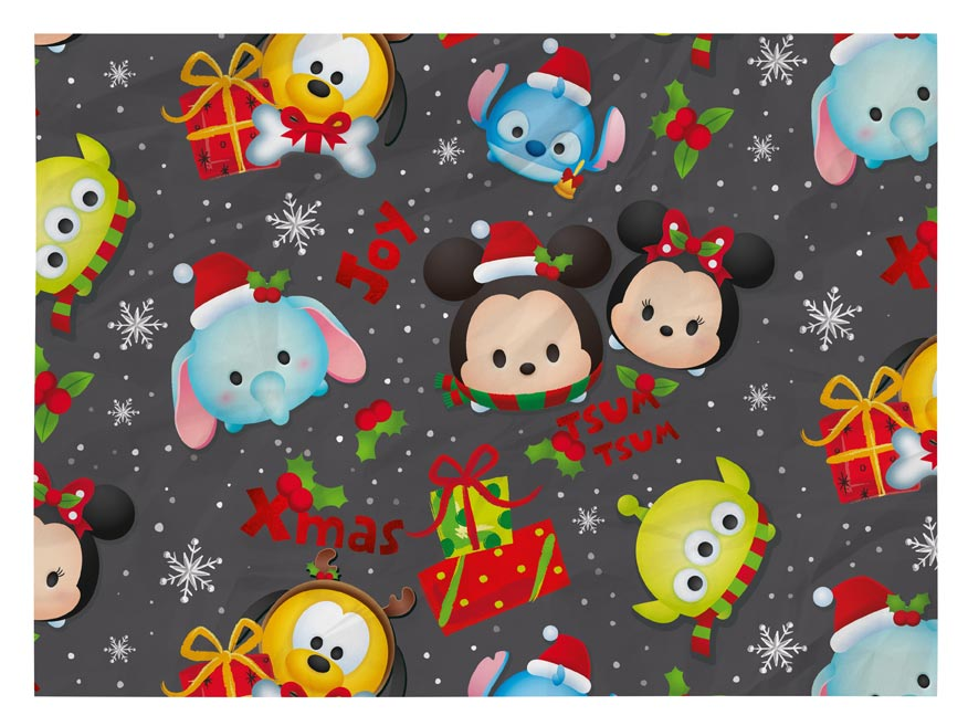 Baliaci papier vianočný LUX YV029 Disney (Tsum Tsum)