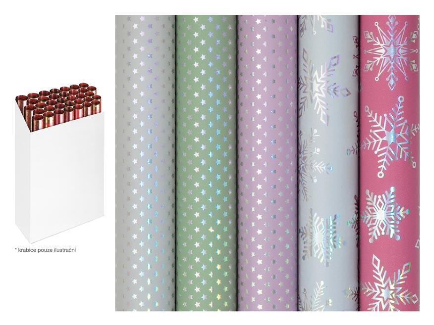 Baliaci papier vianočný rolky Delicate and Dreamy 150x70