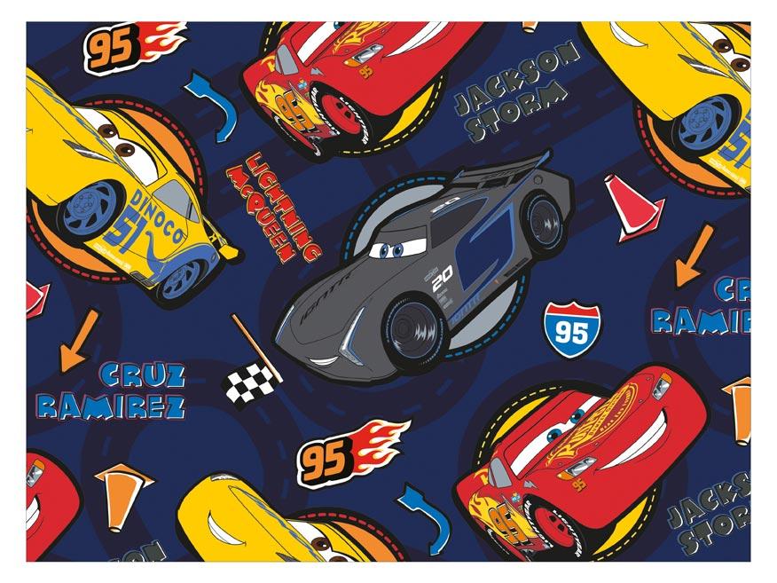 Baliaci papier Disney Y038 (Cars) 100x70 LUX