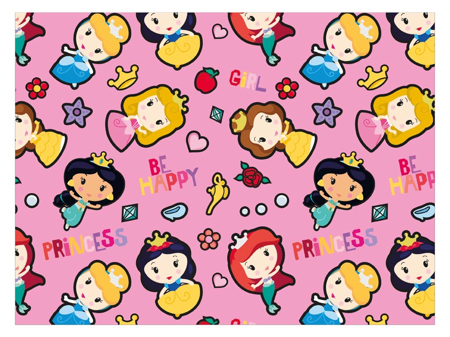 Baliaci papier Disney Y045 (Princess) 100x70 LUX