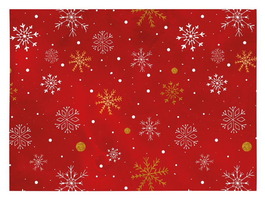 baliaci papier vianočný klasik V220 100x70 5811468