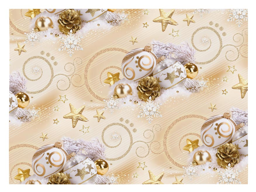 baliaci papier vianočný klasik V222 100x70 5811470