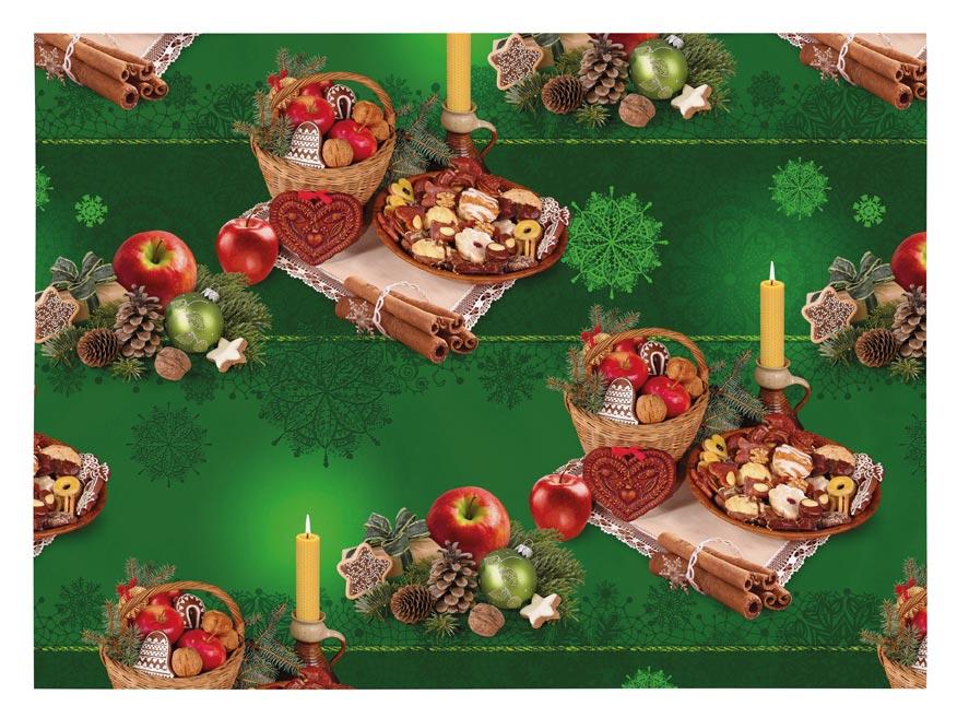 baliaci papier vianočný klasik V223 100x70 5811471
