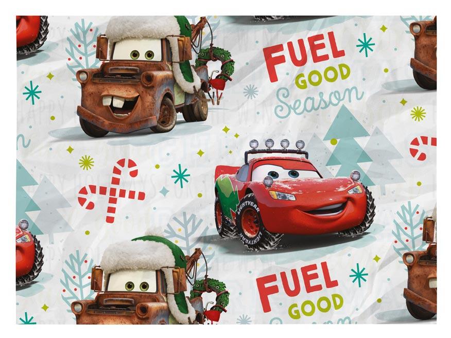 Baliaci papier vianočný LUX YV030 Disney (Cars)