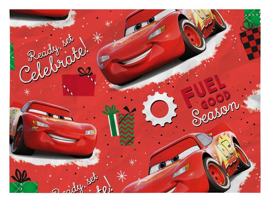 Baliaci papier vianočný LUX YV031 Disney (Cars)
