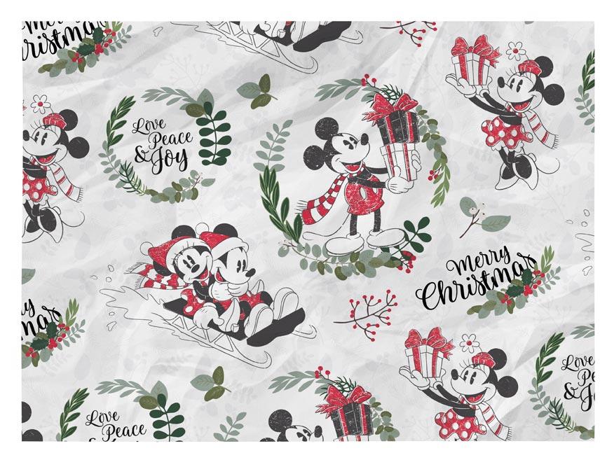 baliaci papier vianočný LUX YV035 Disney (Mickey) 5811482