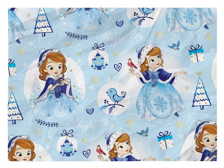 baliaci papier vianočný LUX YV037 Disney (Sofia the First) 5811484