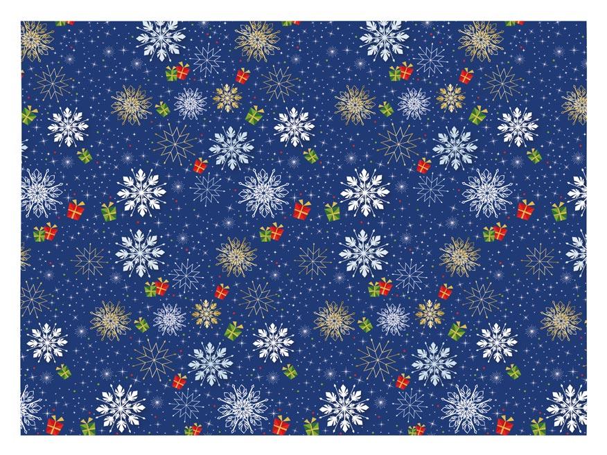 baliaci papier vianočný klasik V229 100x70 5811537