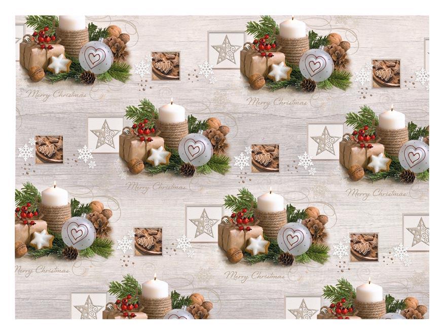 baliaci papier vianočný klasik V231 100x70 5811539