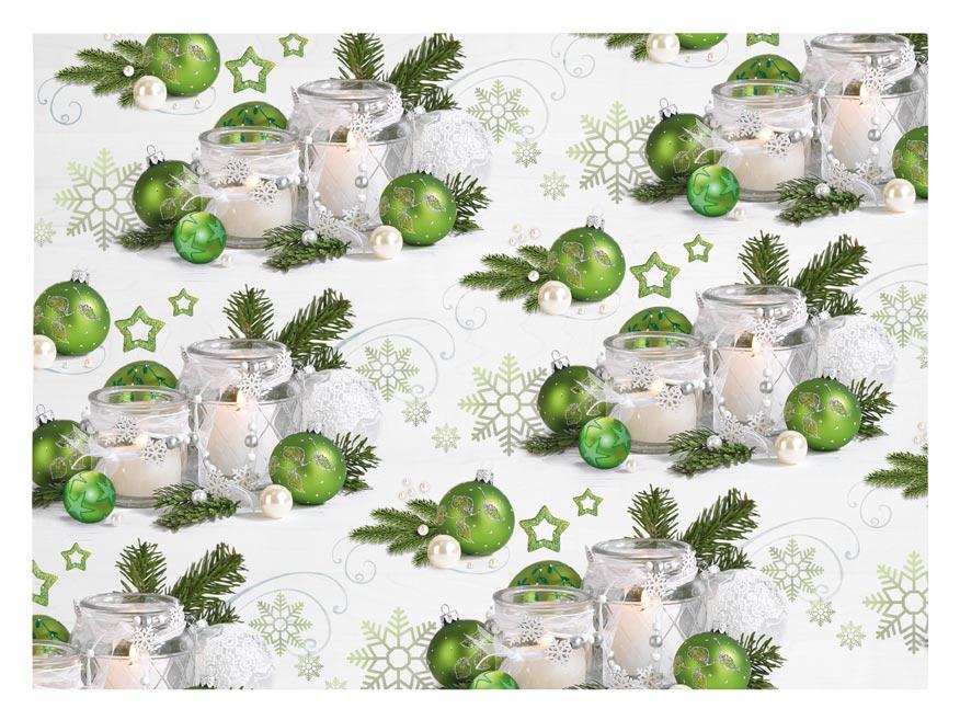 baliaci papier vianočný klasik V233 100x70 5811541