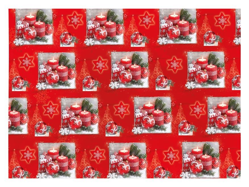baliaci papier vianočný klasik V236 100x70 5811544
