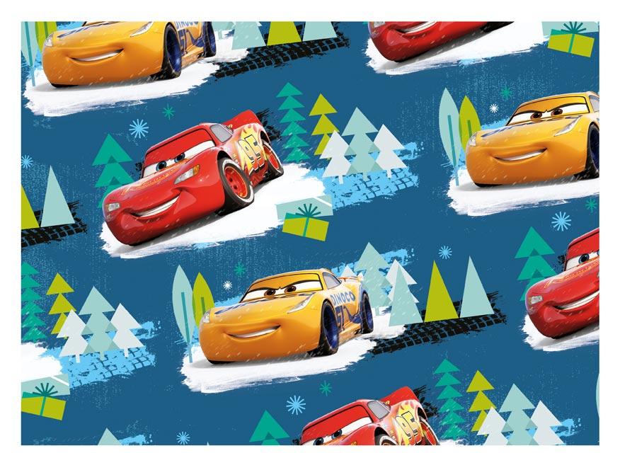 baliaci papier vianočný LUX YV045 Disney (Cars) 5811553