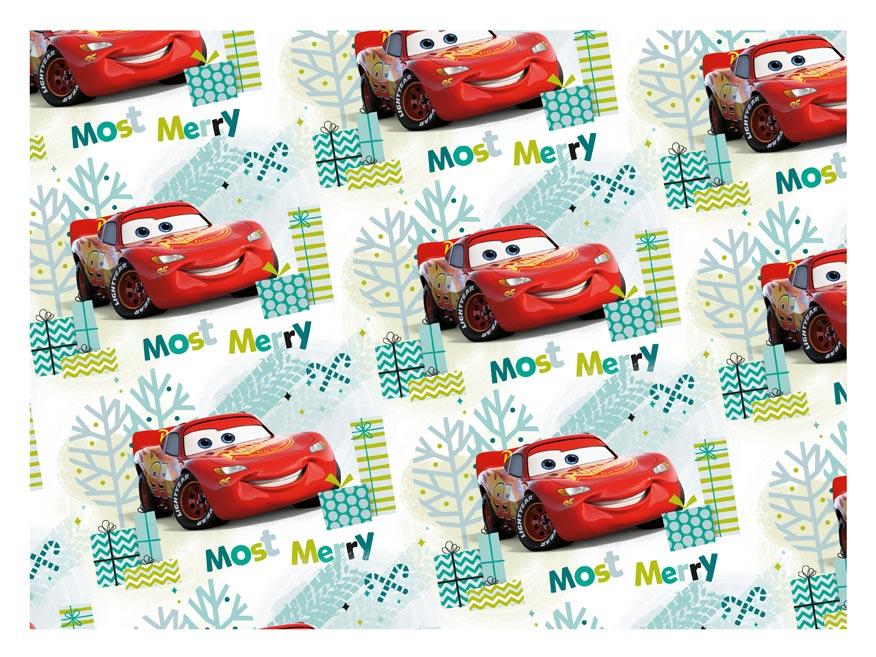 baliaci papier vianočný LUX YV038 Disney (Cars) 5811554