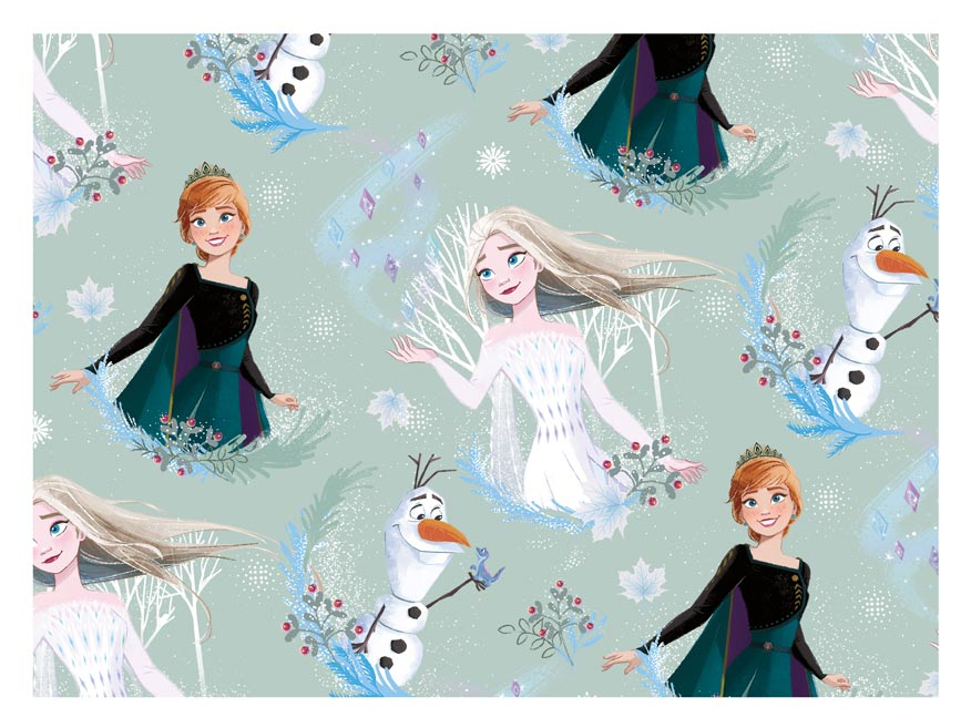 baliaci papier vianočný LUX YV039 Disney (Frozen) 5811555