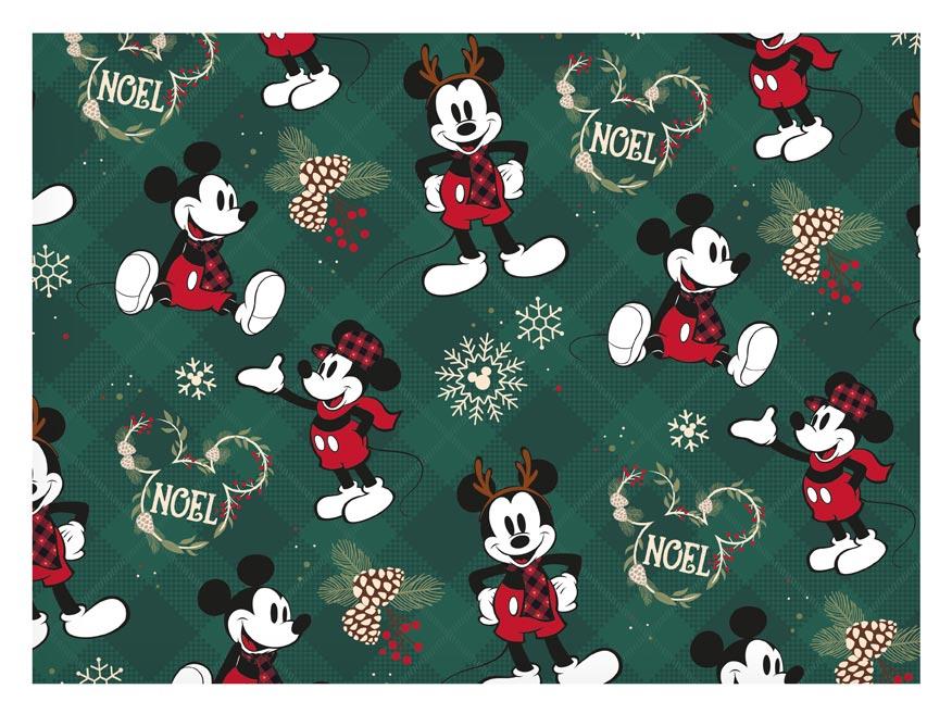 baliaci papier vianočný LUX YV042 Disney (Mickey) 5811558
