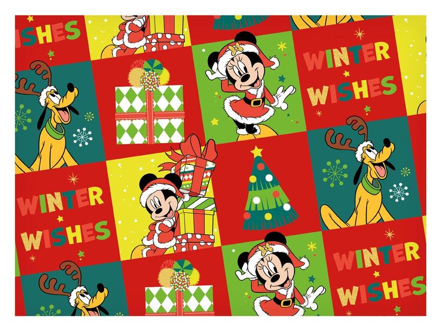 baliaci papier vianočný LUX YV043 Disney (Mickey) 5811559