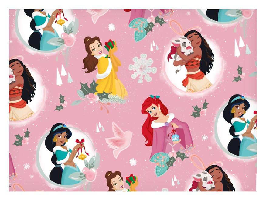 baliaci papier vianočný LUX YV044 Disney (Princess) 5811560
