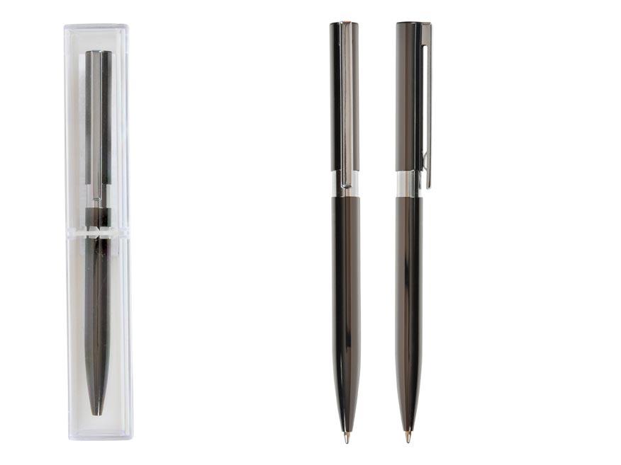 guličkové pero GUNMETAL kovovej v krabičce 6001217