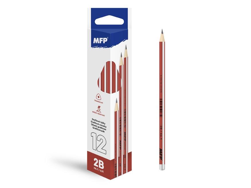 ceruzka M č.1 triangular 6200234