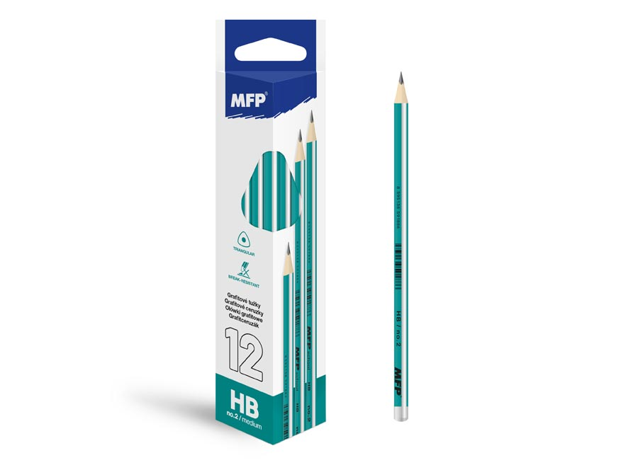 Ceruzka M č.2 triangular