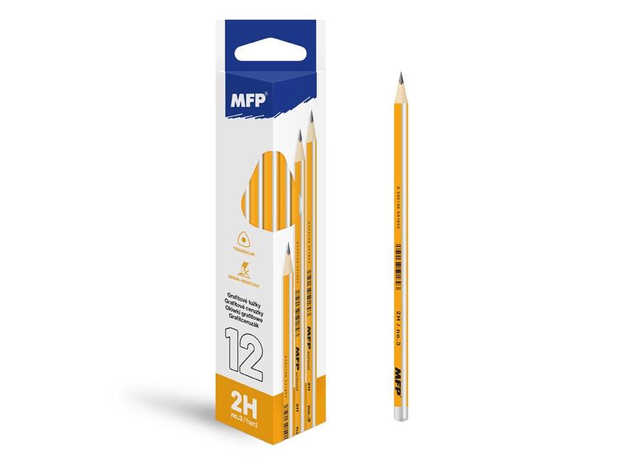 ceruzka M č.3 triangular 6200236