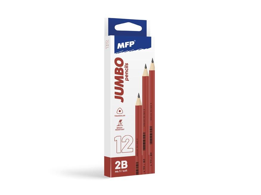 Ceruzka M č.1 JUMBO triangular