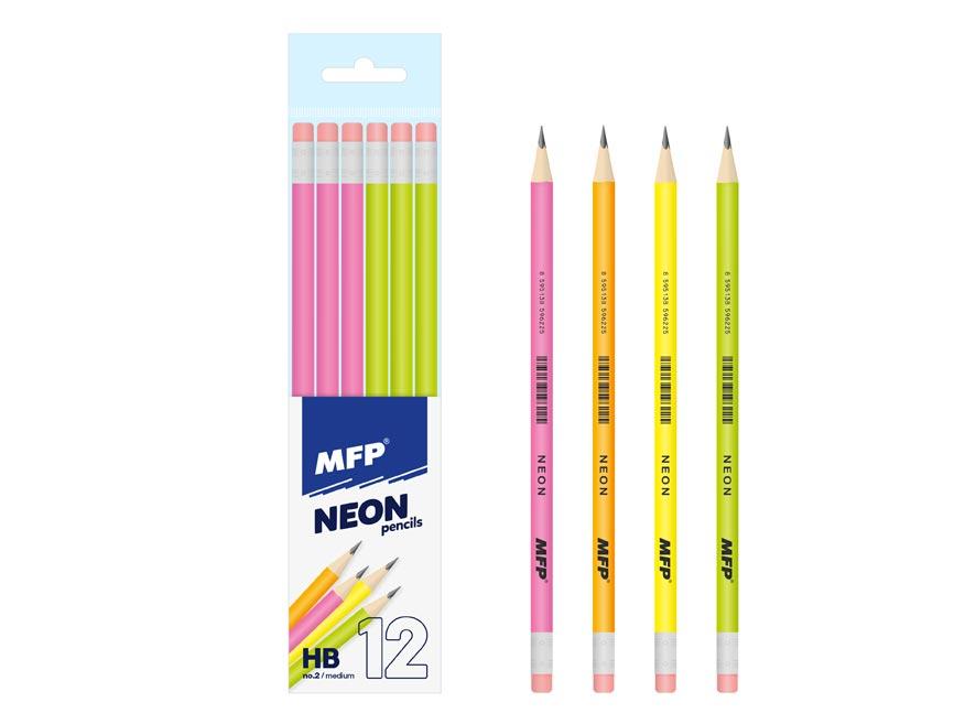 Ceruzka M s gumou HB NEON